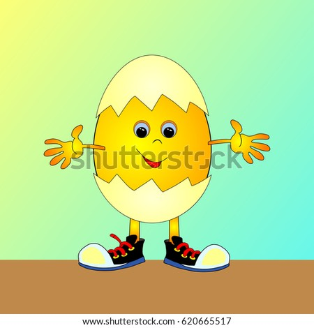 animated eggs cartoon easter