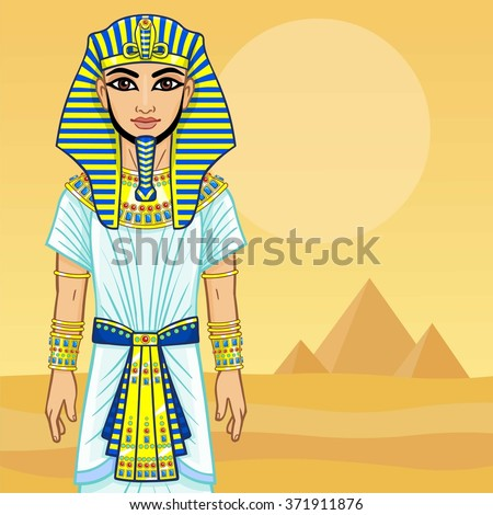 animation egyptian pharaoh