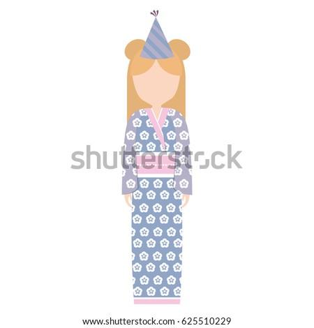 anime avatar kimono has party