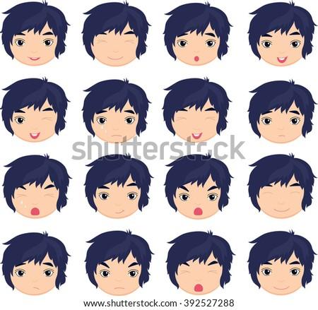 sad anime boy download free vector art stock graphics images