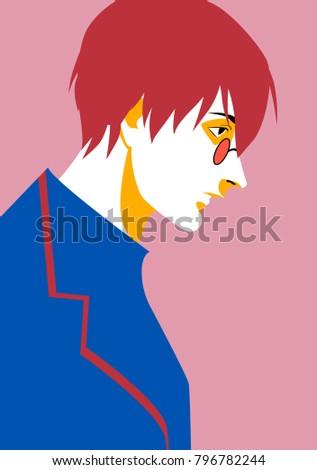 anime cg personage  character