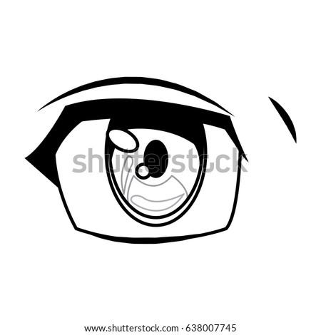 anime eye manga comic