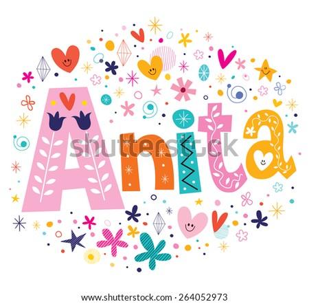 download anita name wallpaper 240x320 wallpoper 83263
