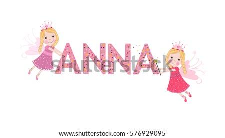 anna female name with fairy