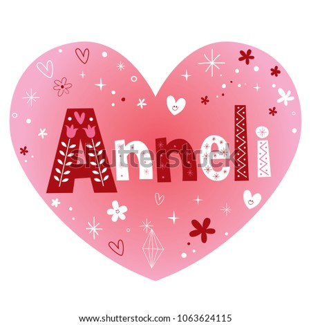 anneli   female given name