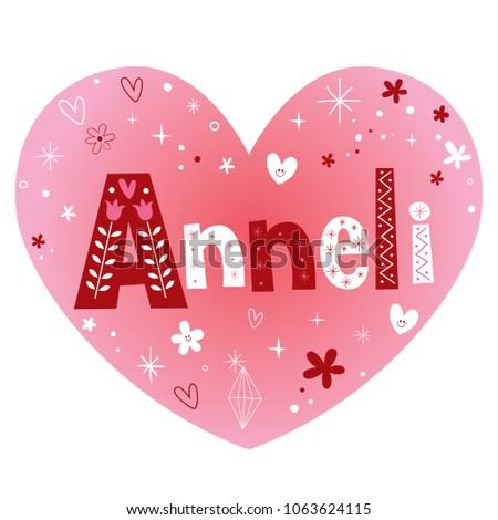 anneli   female given name