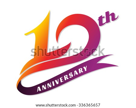 Year anniversary illustration download free vector art stock
