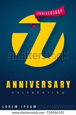 anniversary emblems 77