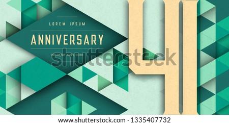 anniversary emblems celebration