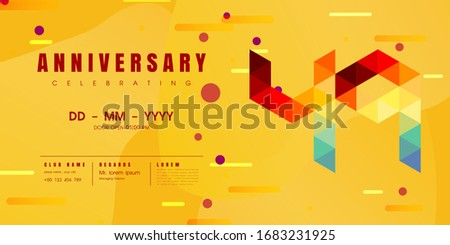 anniversary emblems celebration