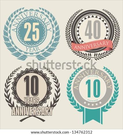 anniversary logo vector - photo #22