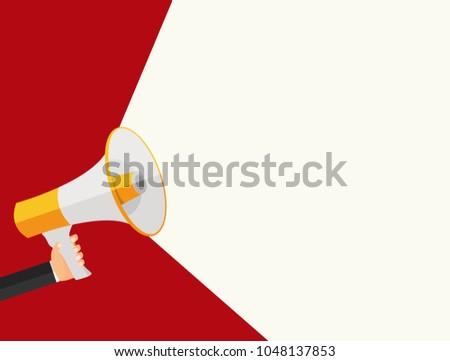 Announce Advertisement Poster Background Vector Illustration EPS10