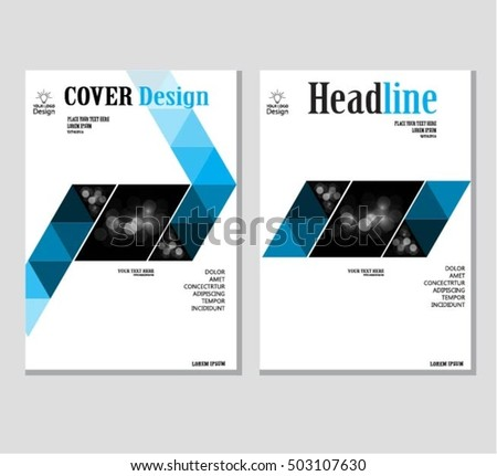 royalty free annual business report cover template 476686756