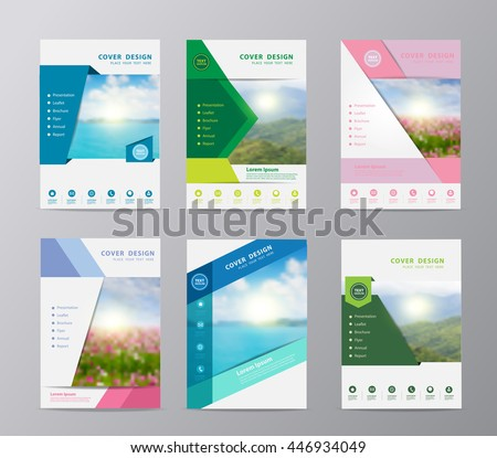 annual report brochure flyer