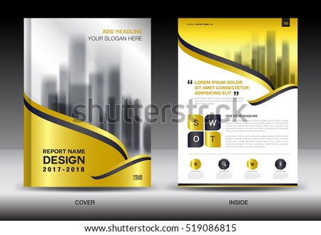 business brochure flyer template magazine cover download free