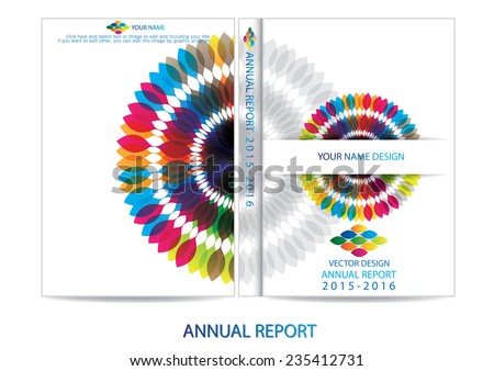 annual report book cover download free vector art stock graphics