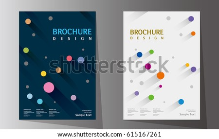Annual report design layout. Book cover design vector template in A4 size. Brochure, business catalog. Simple pattern. Flyer promotion. magazine, Presentation cover. Abstract Vector illustration.