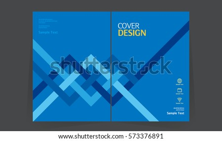 Annual report design vector template in A4 size. book cover design layout. Abstract Brochure design. Simple pattern. Flyer promotion. magazine, Presentation cover. Vector illustration.
