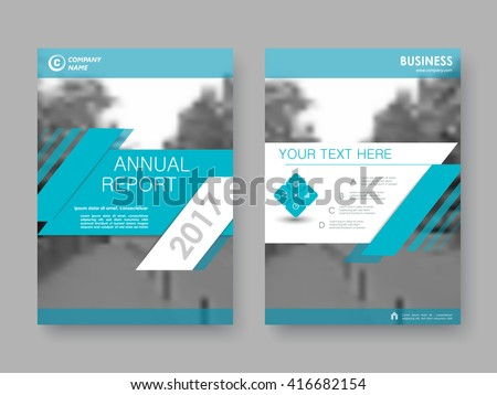 layout design royalty free blue technology hexagon annual report 408437389