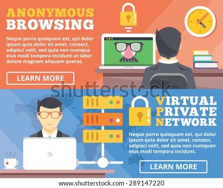 anonymous browsing  virtual