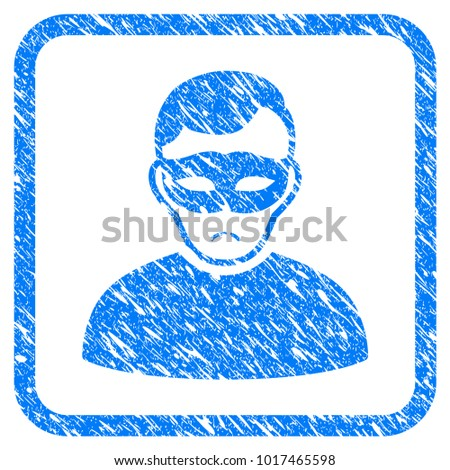 anonymous person rubber seal