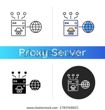 anonymous proxy icon internet