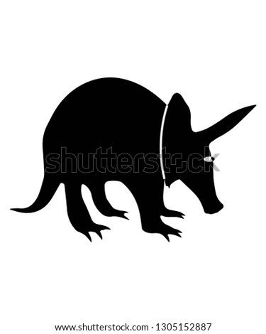 ant eater vector icon