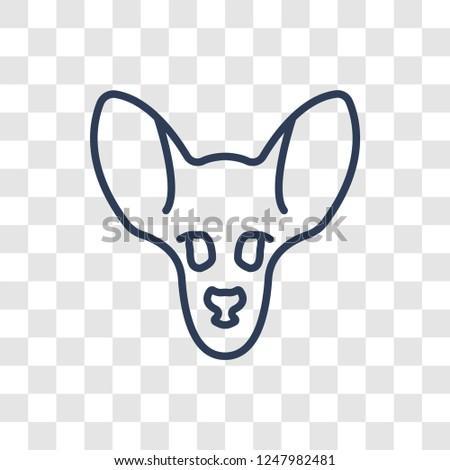 antelope icon trendy linear