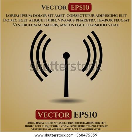 Antenna signal icon