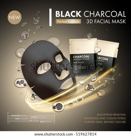 anti blackhead charcoal mask