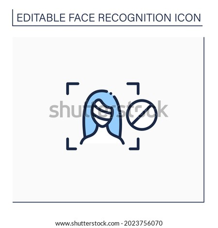 anti facial recognition system