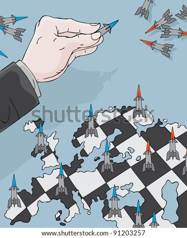 Anti-missile chess