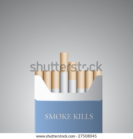 anti smoking vector illustration - stock vector