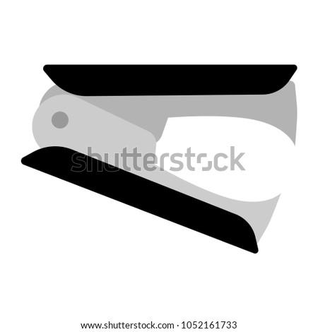 Anti stapler icon on white background.