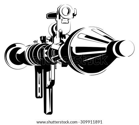 anti tank bazooka color
