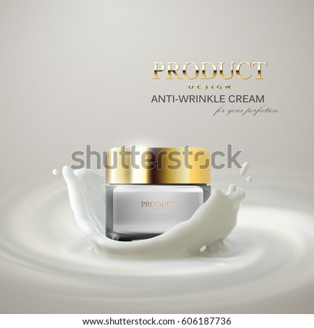 anti wrinkles facial cream ads