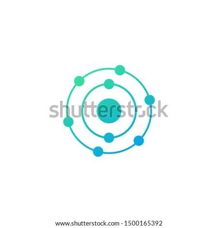 antioxidant vector icon on white Сток-фото ©