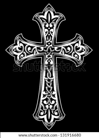 vector images illustrations and cliparts antique christian cross