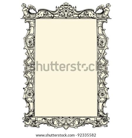 antique frame   vintage