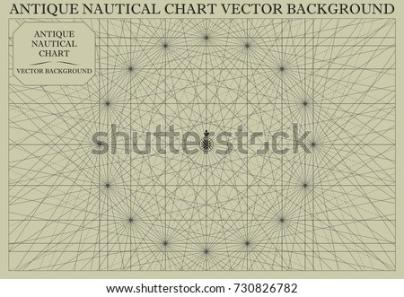 Nautical map download free vector art stock graphics images antique nautical chart map vector background gumiabroncs Images