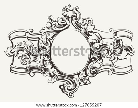 Free Scroll Ornament Vector Banner - Download Free Vector Art, Stock ...