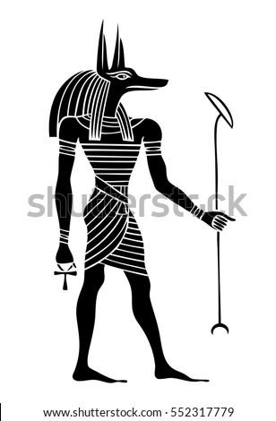 anubis a god of ancient egypt