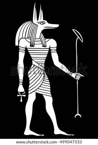 anubis   god of ancient egypt
