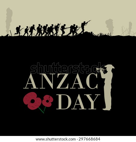 anzac day  silhouette