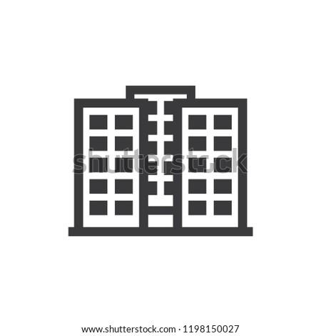Apartments vector icon