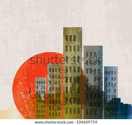 apocalyptic retro poster