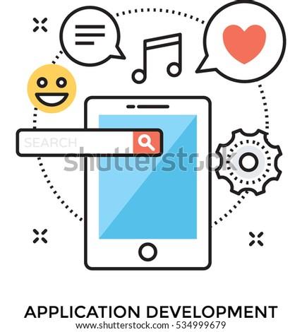 App Development Vector icon