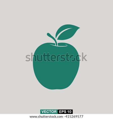 apple icon vector  apple icon