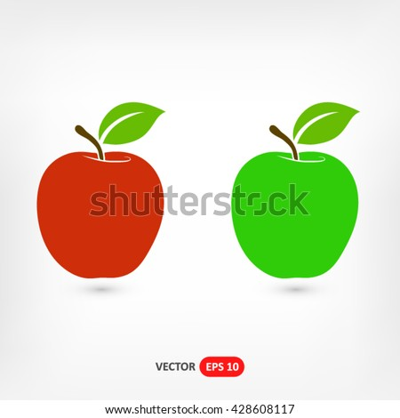 apple icon vector  apple icon