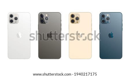 apple iphone 12 pro max in four
